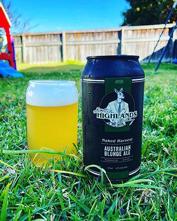 Naked Harvest - Southern Highlands Brewing