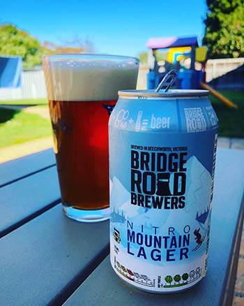 Nitro Mountain Lager - Bridge Road Brewers