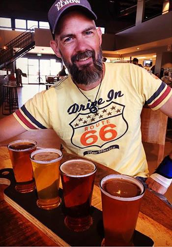 Tasting Paddle - Devil's Elbow Brewery