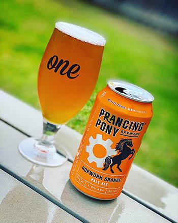 Hopwork Orange - Prancing Pony Brewery