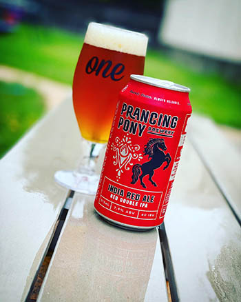 India Red Ale - Prancing Pony Brewery