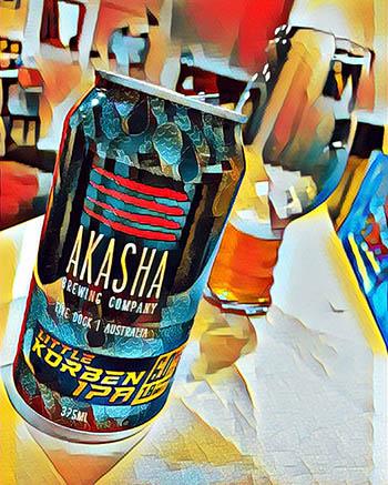 Little Korben IPA - Akasha Brewing Co