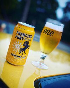 Sunshine Ale - Prancing Pony Brewery